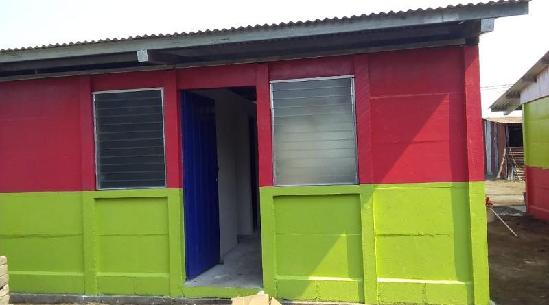 Casa en el barrio Luis Largaespada en Corinto donde se entregarán dos viviendas