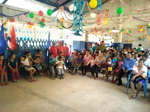 Inauguración de escuela La Trinidad
