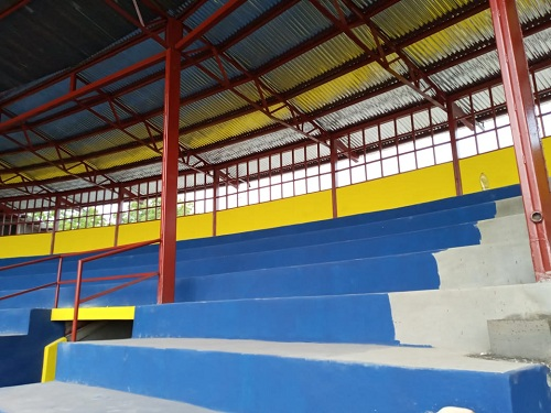 En Larreynaga se operaron mejoras en el estadio