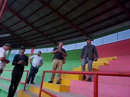 Interior del estadio