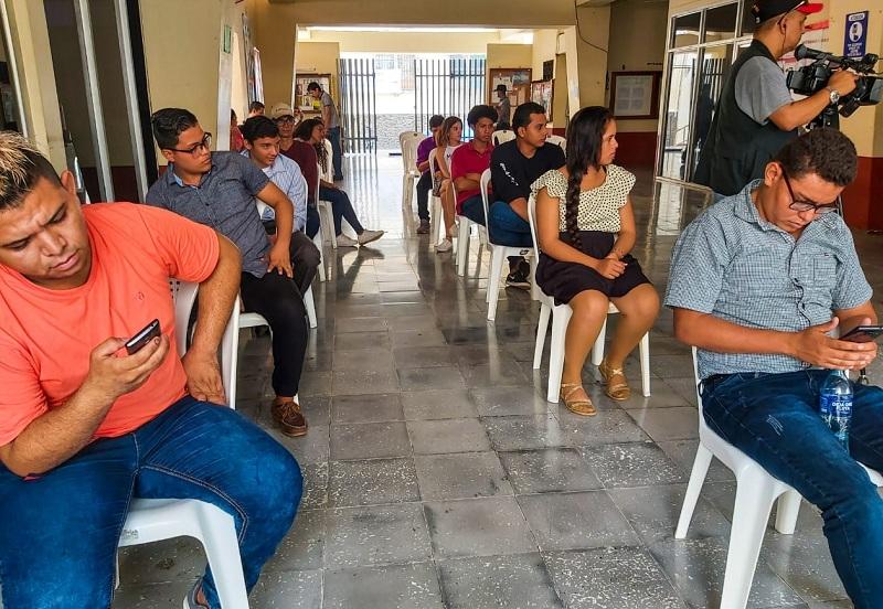 Jovenes aficionados del departamento de León