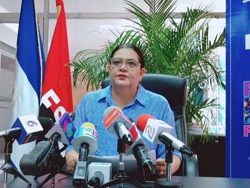 Presidenta ejecutiva de Inifom, Guiomar Irías