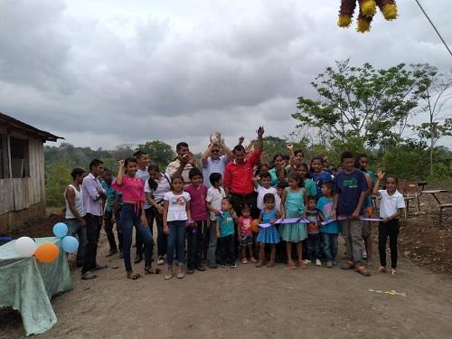San Carlos: Construcción de 3 kilómetros de camino en la comunidad Las Conchas.