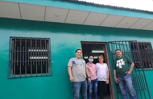 Mejoramiento de taller de costura de cooperativa Nido de Aves,Totogalpa.