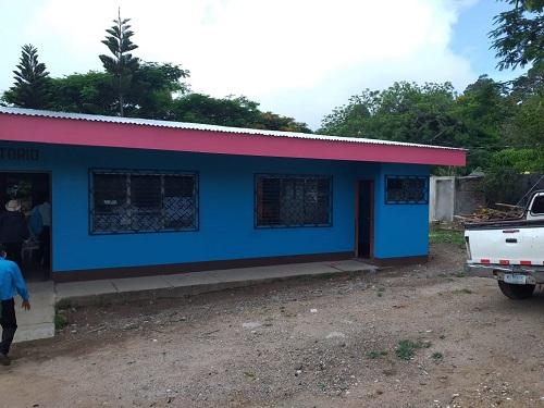 Edificio de la alcaldía de San José de  Cusmapa mejorado