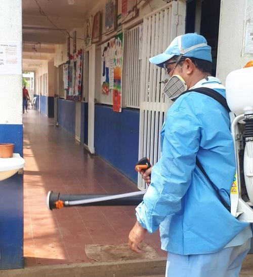 Escuela Gilberto Ramírez en Chichigalpa