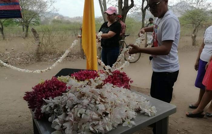 Totogalpa: Sarta de sacuanjoche de 320 metros de largo en Sabana Grande