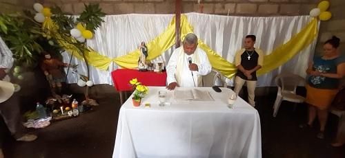 Misa oficiada en honor a San Isidro