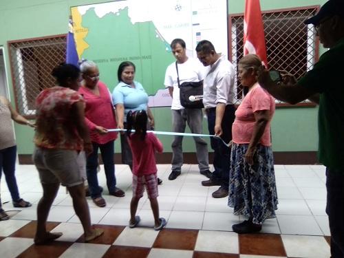San Juan de Nicaragua:Reparación y mantenimiento de centro de salud Benjamin Hammond