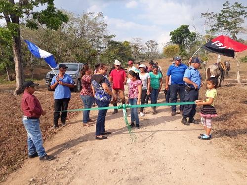 Protagonistas inauguran 18 kilómetrosde camino Muhan-Chaguitillo en Villa Sandino