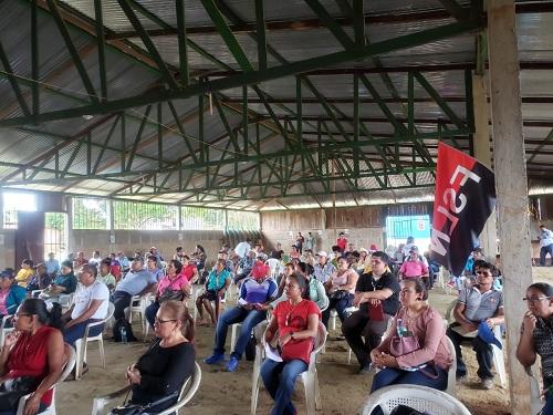 En Wapi centro poblacional rural  de gran importancia en términos productivos, el director de Inifom, Iván Lacayo se reunió con el sector productivo.