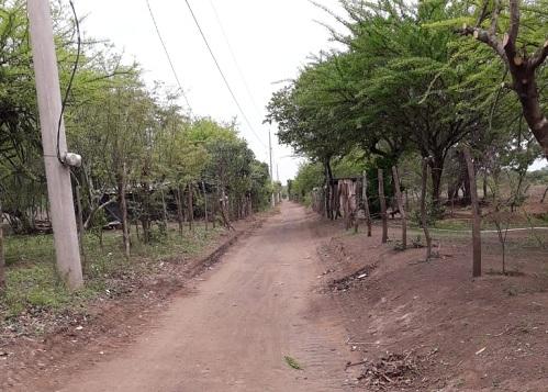 En la comunidad Monte Cristo, jurisdicción de Nagarote la alcaldía rehabilitó 1.7 kilómetros de camino