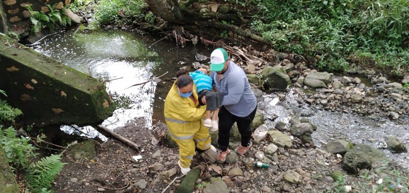 """De manera virtual con la hipótesis lluvias intensas de  mas de una semana II ejercicio """"Nicaragua unida y organizada para una vida segura""""."""