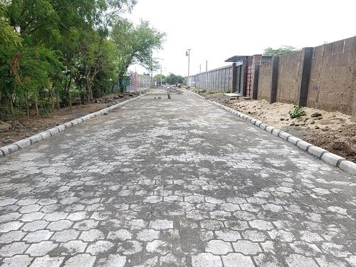En Mateare se construyeron dos calles en La Colonia San José