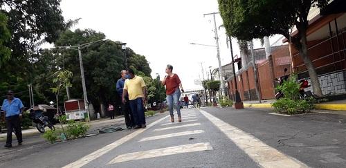Chinandega: Visita a calle peatonal turística La Calzada