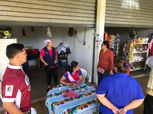 En el mercado local