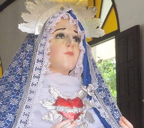 La Virgen Dolorosa, patrona local