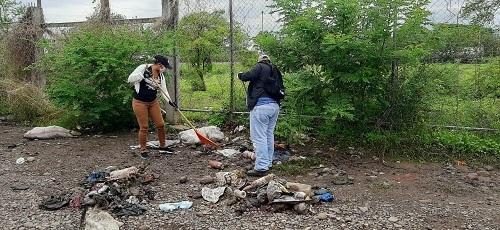 Eliminación de basurero, así se destruyen criaderos de zancudos
