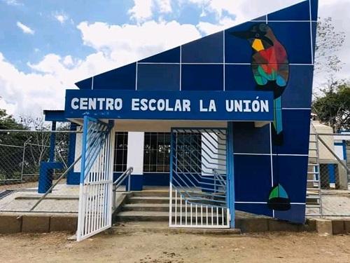 Centro escolar en comunidad El Zúngano , Quilalí  recién construido