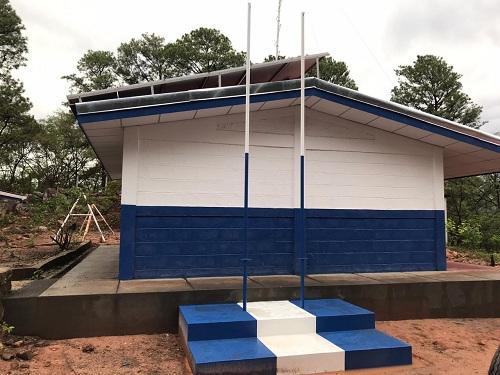 Escuela Rafaela Herrera en el sector  El Ángel N°1 en San José de Cusmapa fue rehabilitada