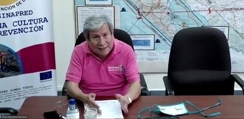 Doctor Guillermo González, co-director de Sinapred