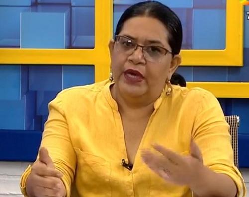 Presidenta ejecutiva de Inifom Guiomar  Irias