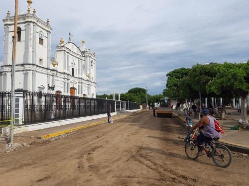 Nueva calzada y remodelación de la Plaza carlos Fonseca en Rivas