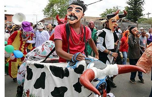 La Vaquita uno de los bailes mas representativos de la ciudad