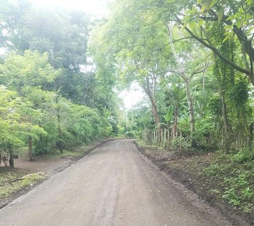 En El rosario la alcaldía restauró dos kilómetros de camino en el sector Panamá 2
