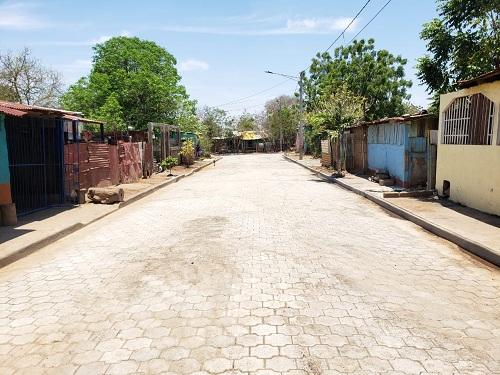 EnMateare construyeron dos calles en el barrio San Francisco