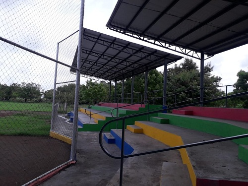 EnEl Viejo, la alcaldía restauró el complejo deportivo en el reparto La Histórica.