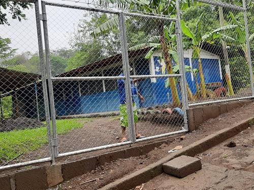 Escuela de la comunidad El Guarumo en Masatepe.