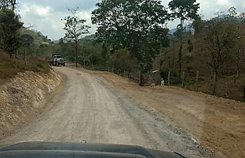 Siuna restauró diez kilómetros de caminos en la comunidad Máncer N°5.