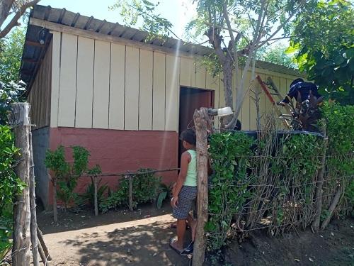 En Nagarote el gobierno del poder ciudadano, restauró 25 viviendas.