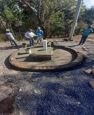Las familias de la comarca Catarina en San Lorenzo cuentan con un pozo comunitario