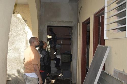 Chichigalpa: Mejoramiento de la infraestructura de la alcaldía.