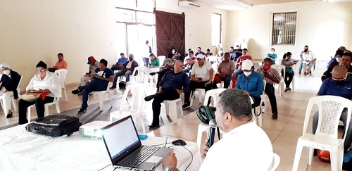 Chinandega: Encuentro departamental del sistema de producción, consumo y comercio