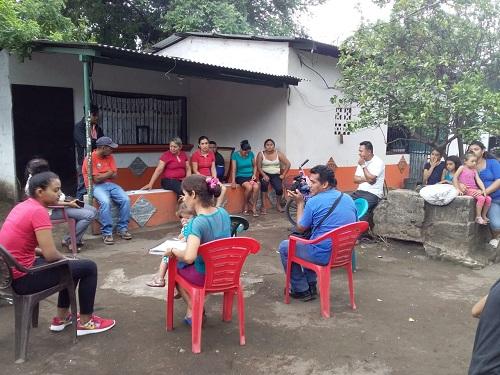 Posoltega: Con protagonistas del proyecto Nicavida en la Comunidad El Ojochal
