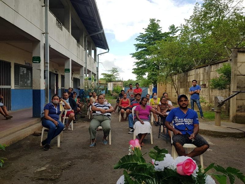 Télica: Sesión especial de concejo municipal en la comunidad Los Cocos.