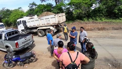 Construcción de calzada y remodelazión de la plaza Carlos Fonseca en Rivas
