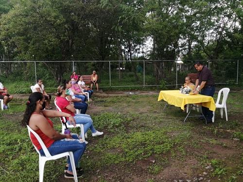 Entrega de lotes en Santa Rosa del Peñón