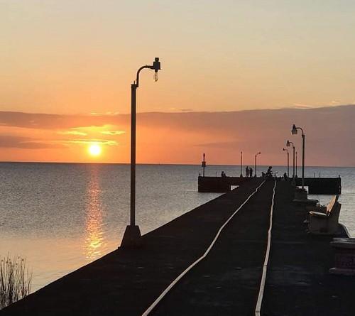 Una bella puesta de sol