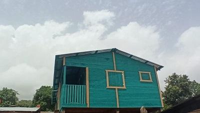 Bonanza: Construcción de dos viviendas  en el barrio Jorge Dimitrov
