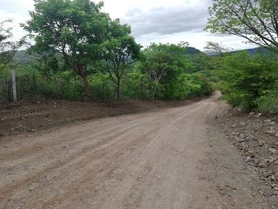 Juigalpa: Tres kilómetros en la comunidad El Juste.