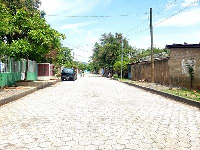 Construcción de dos calles adoquinadas, en Mateare.