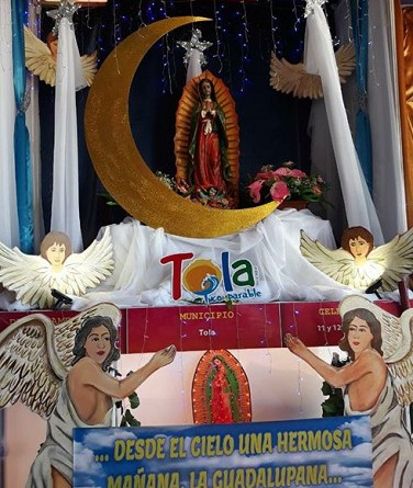 Virgen de Guadalupe, patrona de Tola