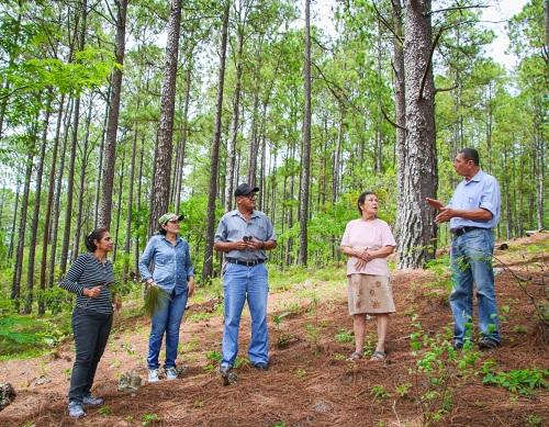 Una visita cotidiana del equipo municipal a los productores de Altos de Ocotal