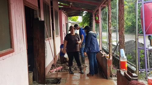 Casa materna de Morrito en remodelación