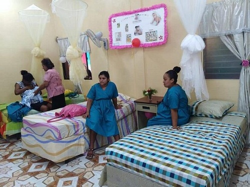 Casa  materna en San Isidro