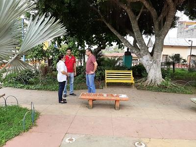 En el parque central